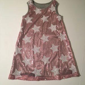 Amazing pink sparkly sequin dress🔺